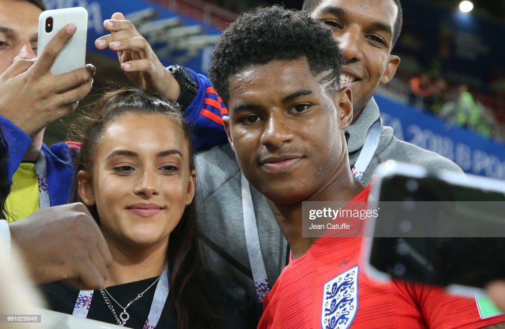 Marcus Rashford Of England And Girlfriend Lucia Loi Joins His Family News Photo Getty Images