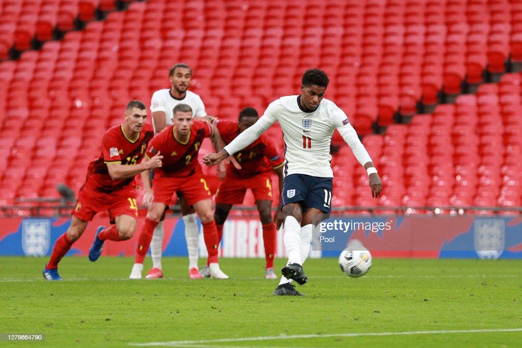 England v Belgium - UEFA Nations League : News Photo