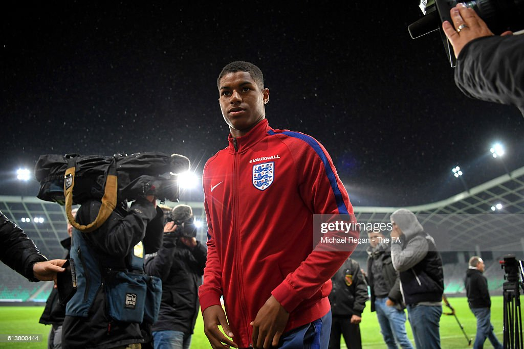 England Press Conference : News Photo