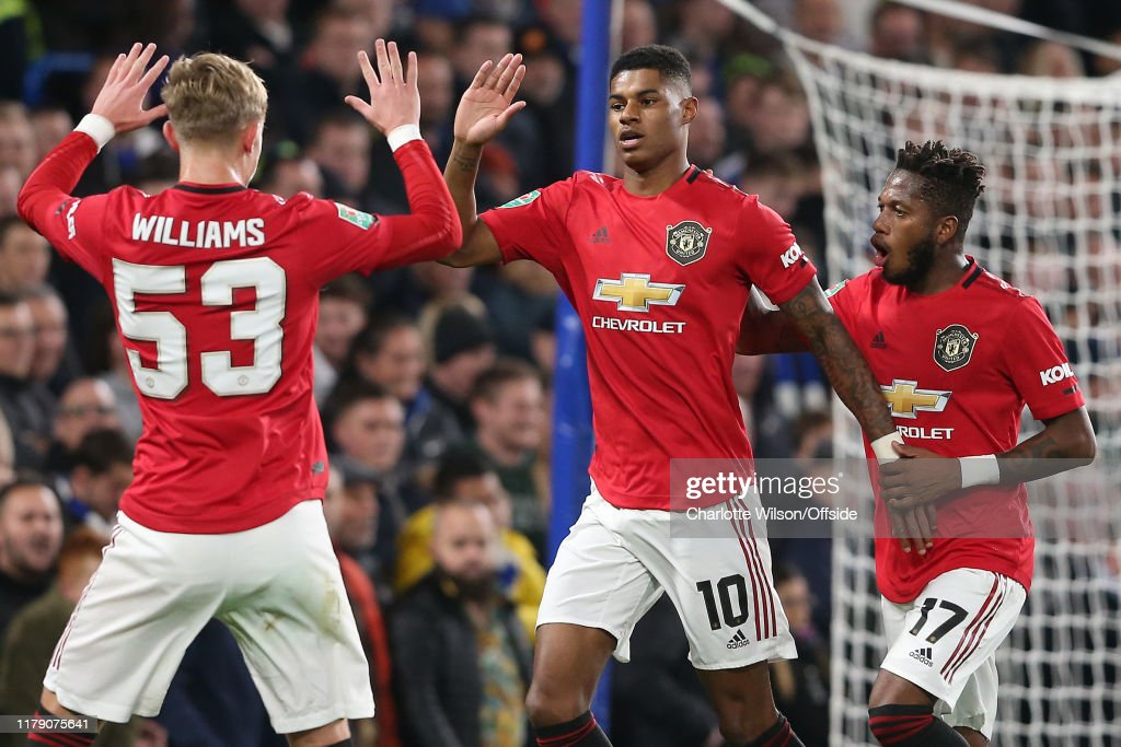 Chelsea FC v Manchester United - Carabao Cup Round of 16 : News Photo