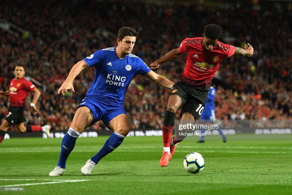 Manchester United v Leicester City - Premier League : News Photo