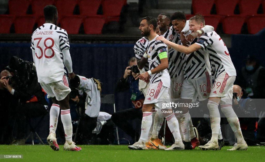 Paris Saint-Germain v Manchester United: Group H - UEFA Champions League : Nachrichtenfoto