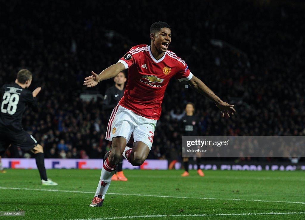 Soccer - UEFA Europa League - Manchester United v FC Midtjylland : News Photo