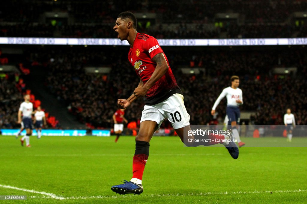 Manchester Unitied v Tottenham Hotspur - Premier League : News Photo