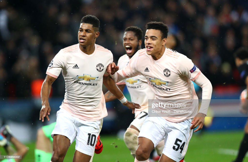 Paris Saint Germain v Manchester United - UEFA Champions League Round of 16 Second Leg : News Photo