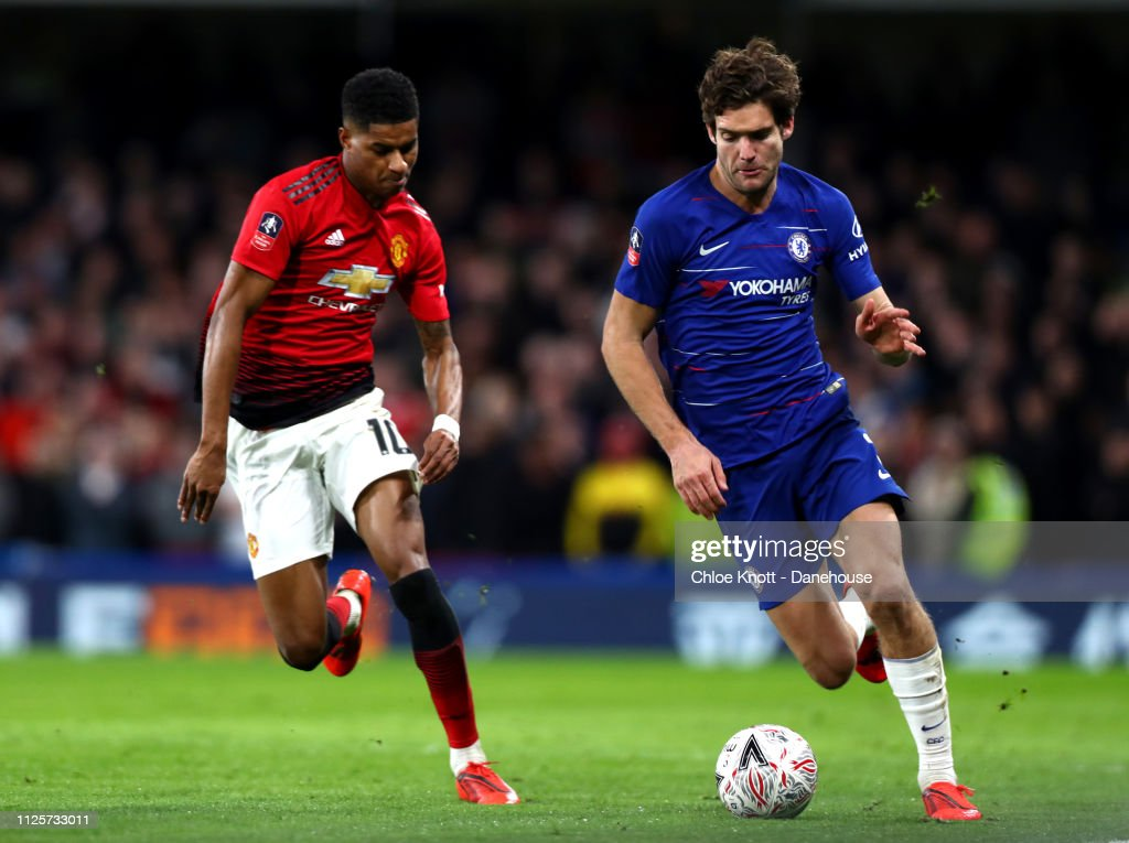 Chelsea FC v Manchester United - FA Cup fifth round match : ニュース写真