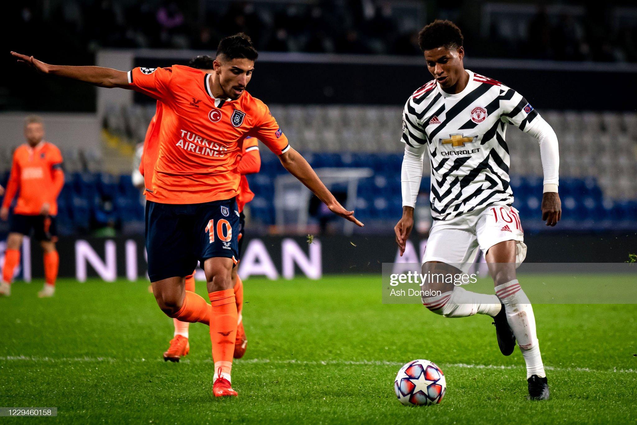Istanbul Basaksehir v Manchester United: Group H - UEFA Champions League : ニュース写真