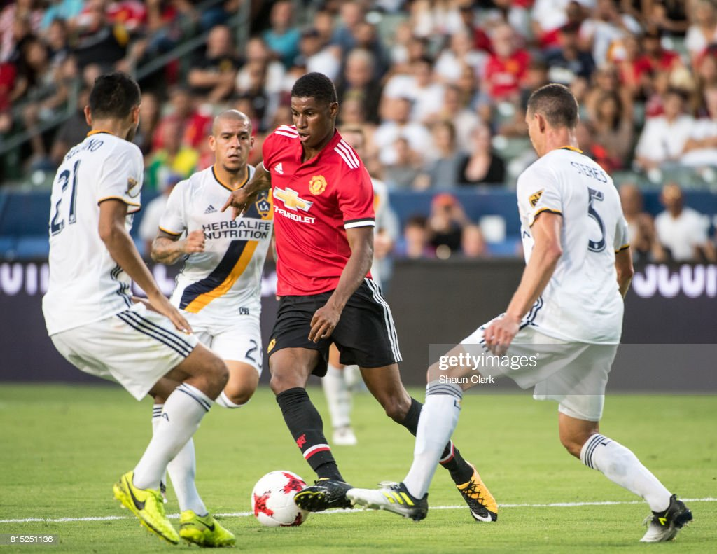 Los Angeles Galaxy v Manchester United - Manchester United 2017 Pre Season Tour : News Photo
