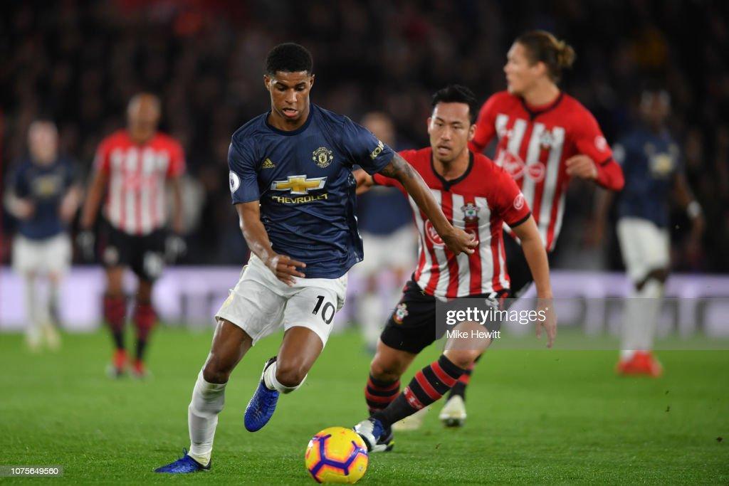 Southampton FC v Manchester United - Premier League : News Photo