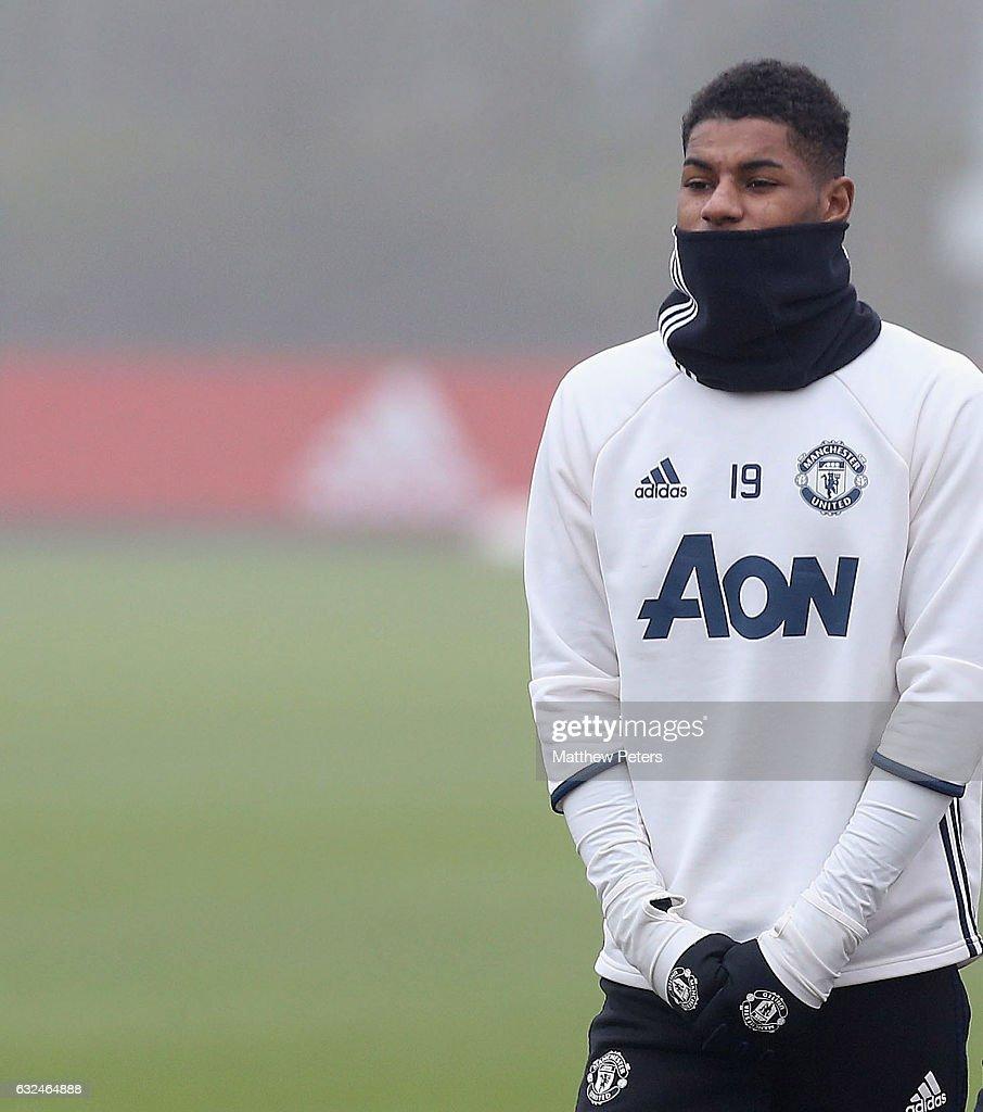 Manchester United Training Session : News Photo