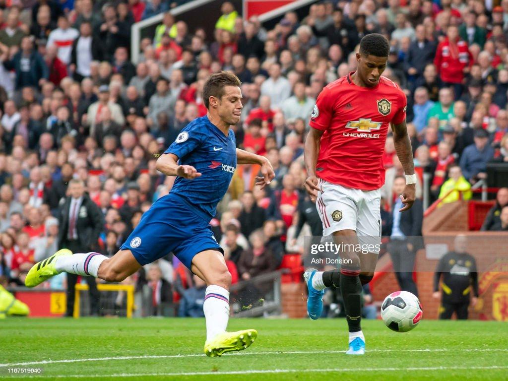 Manchester United v Chelsea FC - Premier League : News Photo