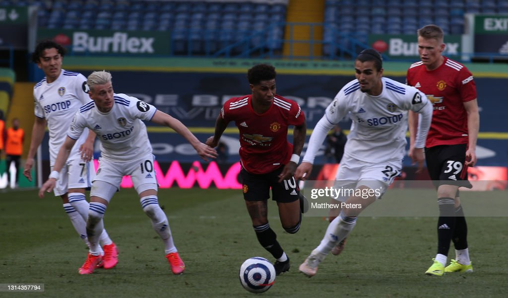 Leeds United v Manchester United - Premier League : Foto jornalística