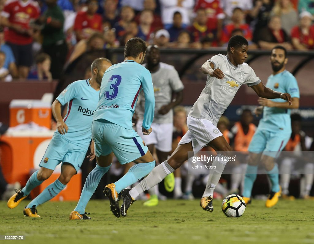 International Champions Cup 2017 - FC Barcelona v Manchester United : News Photo