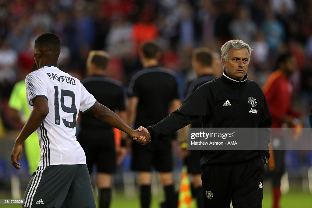 Manchester United v Galatasaray: Pre-Season Friendly : News Photo