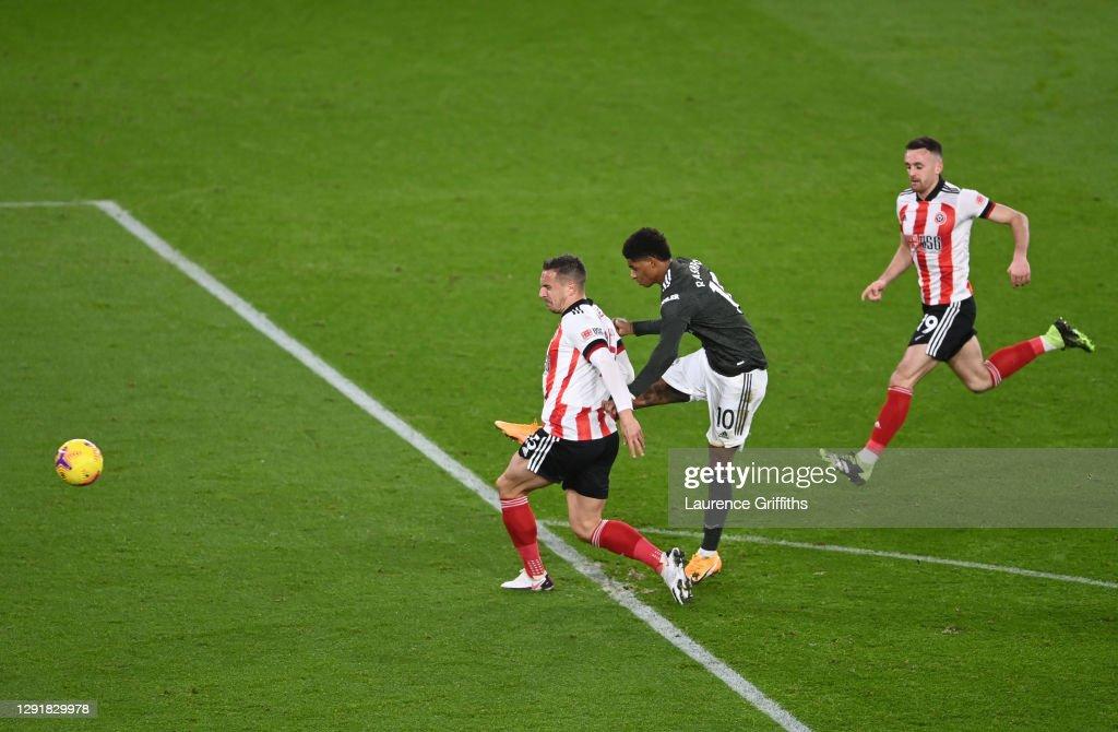 Sheffield United v Manchester United - Premier League : ニュース写真