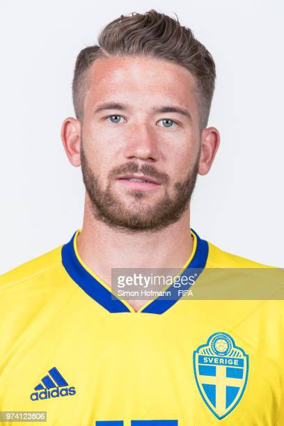 Marcus Rohden of Sweden poses during the official FIFA World Cup 2018 portrait session on June 13 2018 in Gelendzhik Russia