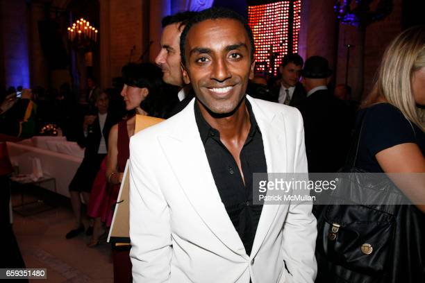 Marcus Samuelson attends PAPER Magazine 25th Anniversary Party at New York Public Library on September 8 2009 in New York City