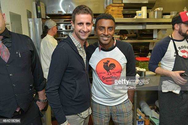 Marcus Samuelsson attends the Harlem Shake Dinner hosted by Marcus Samuelsson with Charles Gabriel JJ Johnson and Christopher Lee presented by Moet...