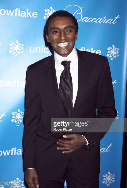 Marcus Samuelsson during 2nd Annual UNICEF Snowflake Ball Arrivals at The Waldorf Astoria Hotel in New York City New York United States