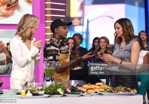 AMERICA Marcus Samuelsson is a guest on 'Good Morning America' Tuesday April 17 airing on the ABC Television Network LARA