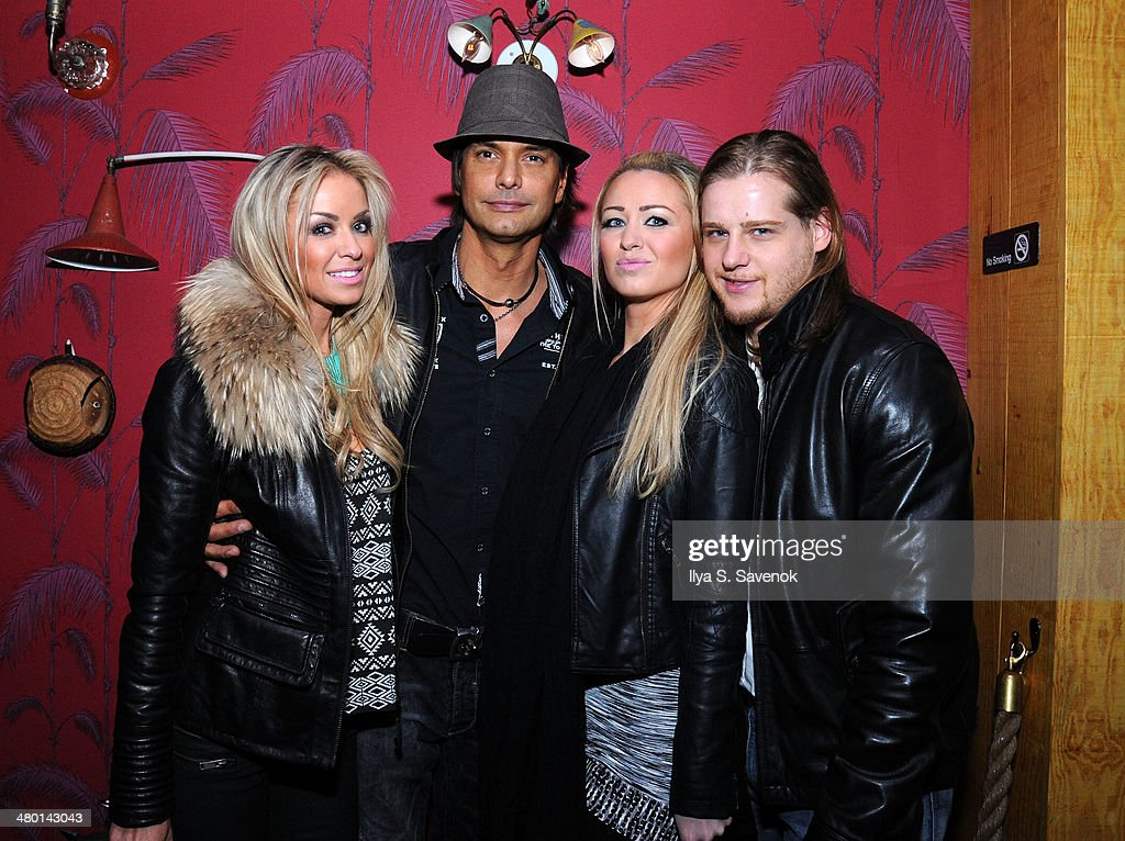 Marcus Schenkenberg (2nd from L) attends 2nd Supermodel Saturday at No.8 on March 22, 2014 in New York City.