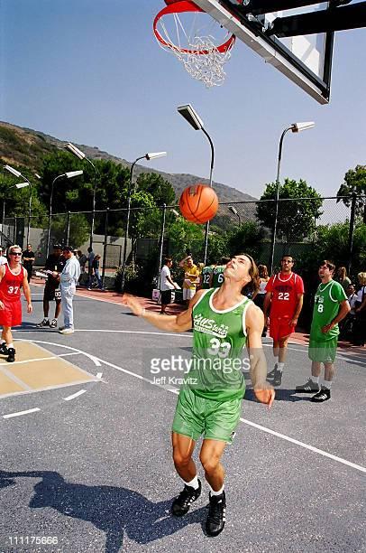 Marcus Schenkenberg during 1998 MTV's Rock n' Jock Basketball in Los Angeles California United States