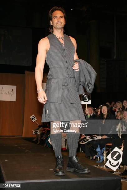 Marcus Schenkenberg during Johnnie Walker Dressed to Kilt 2007 Arrivals and Fashion Show at Capitale at 130 Bowery in New York City New York United...