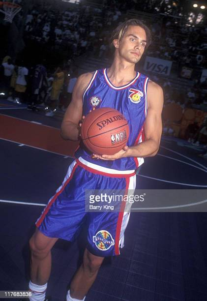 Marcus Schenkenberg during MTV RockNJock Basketball Game 1997 in Los Angeles California United States