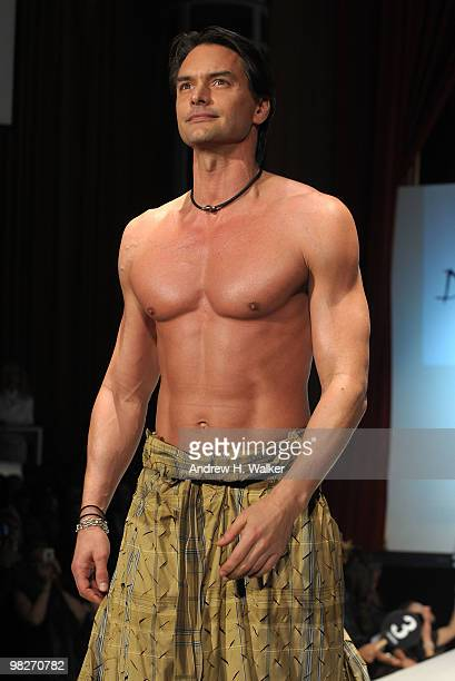 Marcus schenkenberg pictures and photos getty images marcus schenkenberg walks the runway at the 8th annual dressed to kilt charity fashion altavistaventures Image collections