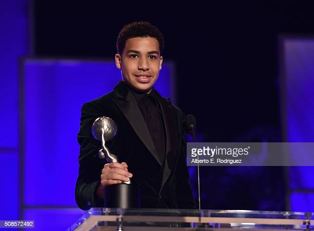 Marcus Scribner Actor attends the 47th NAACP Image Awards Non-Televised Awards Ceremony on February 4, 2016 in Pasadena, California.