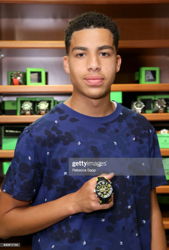 Marcus Scribner at day one of Backstage Creations Celebrity Retreat at Teen Choice 2017 at Galen Center on August 12, 2017 in Los Angeles, California.