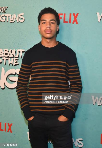Marcus Scribner attends a screening of Netflix's 'All About The Washingtons' at Madera Kitchen Bar on August 8 2018 in Hollywood California