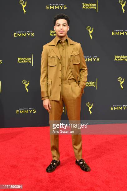 Marcus Scribner attends the 2019 Creative Arts Emmy Awards on September 15, 2019 in Los Angeles, California.