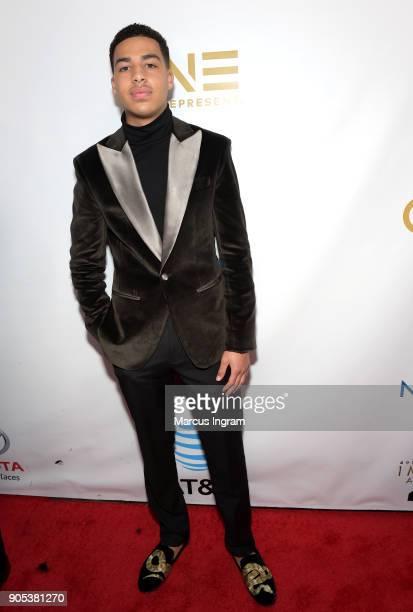 Marcus Scribner attends the 49th NAACP Image Awards at Pasadena Civic Auditorium on January 15 2018 in Pasadena California