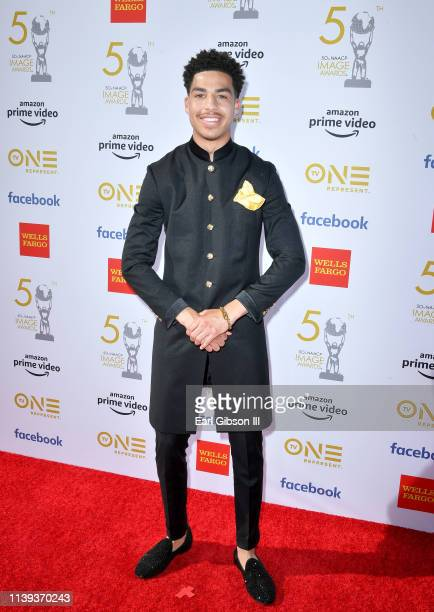 Marcus Scribner attends the 50th NAACP Image Awards at Dolby Theatre on March 30 2019 in Hollywood California