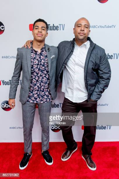 Marcus Scribner attends the ABC Tuesday night block party event at Crosby Street Hotel on September 23 2017 in New York City