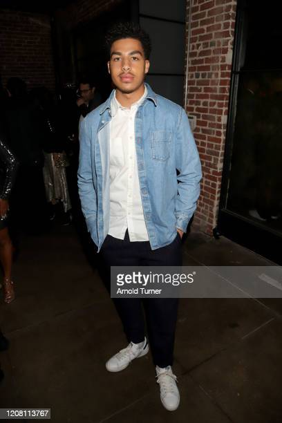 Marcus Scribner attends the CAA NAACP Image Awards After Party at The Jefferson on February 22 2020 in Los Angeles California