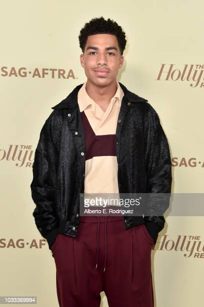 Marcus Scribner attends The Hollywood Reporter and SAGAFTRA Annual Nominees Night to celebrate Emmy Award contenders at Avra Beverly Hills Estiatorio...
