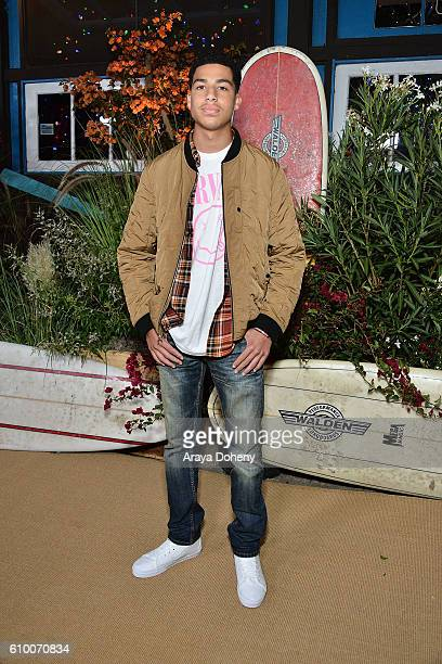 Marcus Scribner attends the Teen Vogue Young Hollywood 14th Annual Young Hollywood Issue at Reel Inn on September 23 2016 in Malibu California