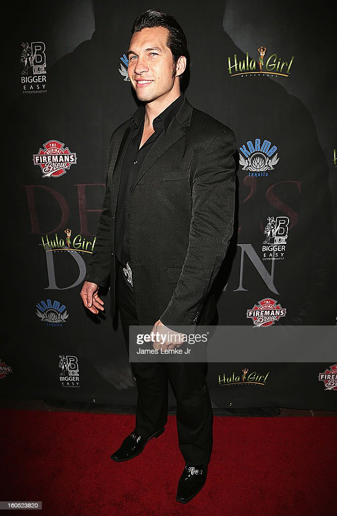 Marcus Shirock attends 'The Devil's Dozen' Special Screening on February 1, 2013 in Los Angeles, California.