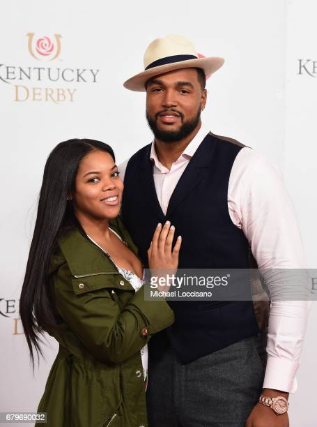 Marcus Smith attends the 143rd Kentucky Derby at Churchill Downs on May 6 2017 in Louisville Kentucky