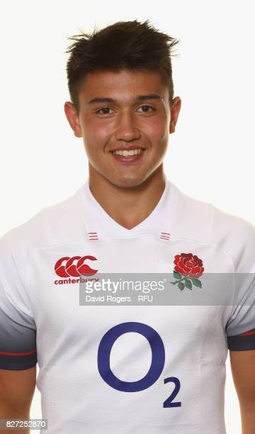 Marcus Smith of England poses for a portrait at The Lensbury on August 5 2017 in Teddington England