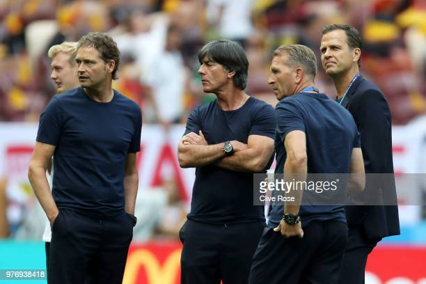 Marcus Sorg Germany assistant manager Joachim Loew Manager of Germany Oliver Bierhoff Team Coordinator and Andreas Koepke Germany goal keeping coach...