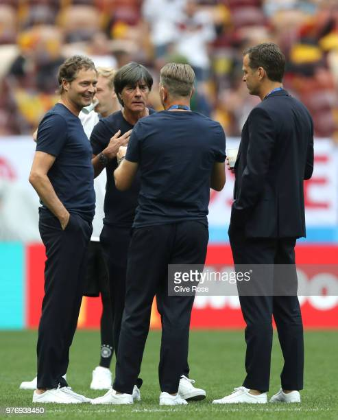 Marcus Sorg Germany assistant manager Joachim Loew Manager of Germany Oliver Bierhoff Team Coordinator and Andreas Koepke Germany goalkeeping coach...