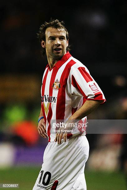 Marcus Stewart of Sunderland in action during the CocaCola Championship between Wolverhampton Wanderers and Sunderland at Molineux on February 4 2005...