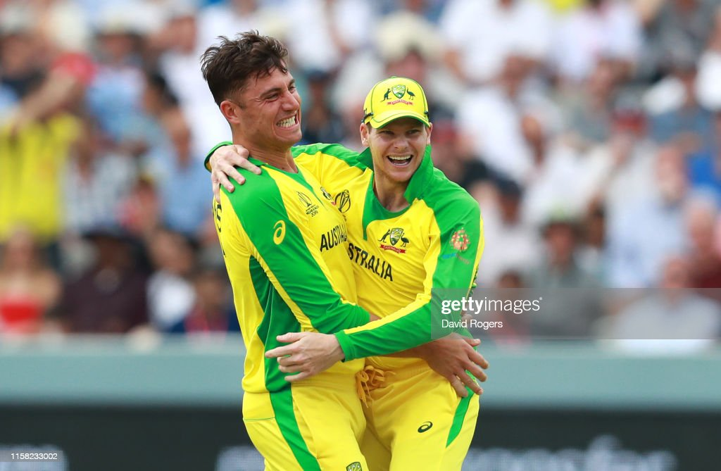 England v Australia - ICC Cricket World Cup 2019 : ニュース写真