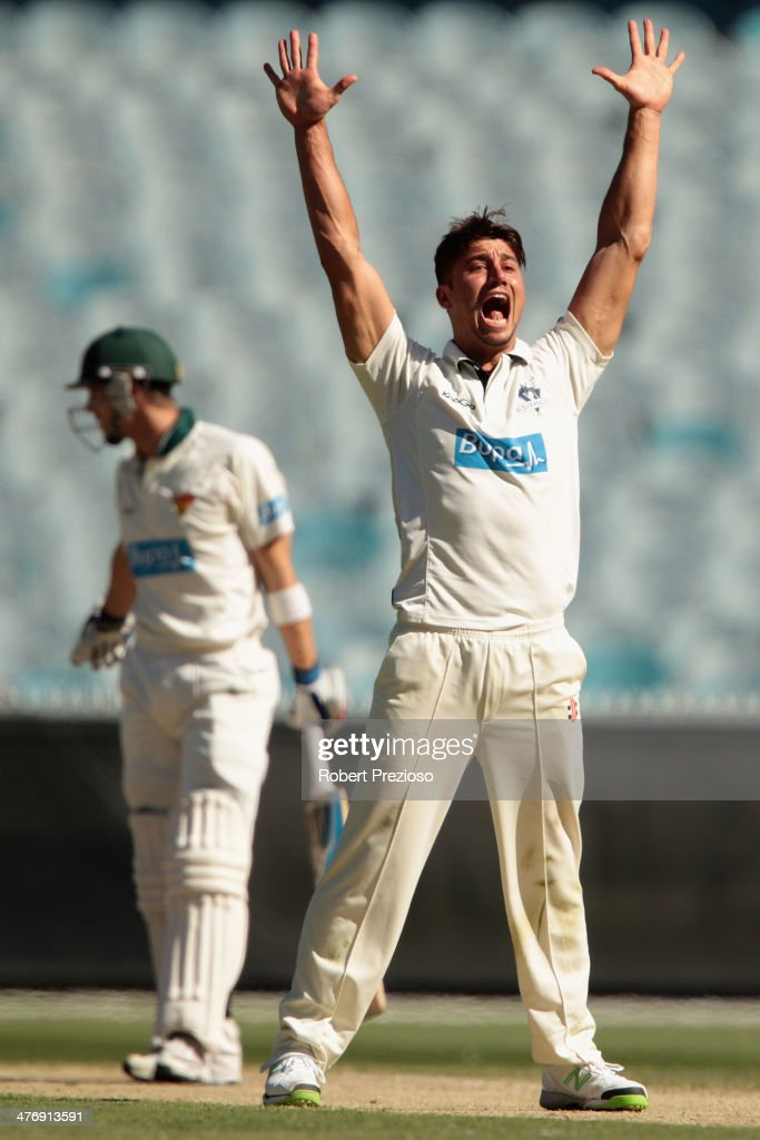 Sheffield Shield - Bushrangers v Tigers: Day 4