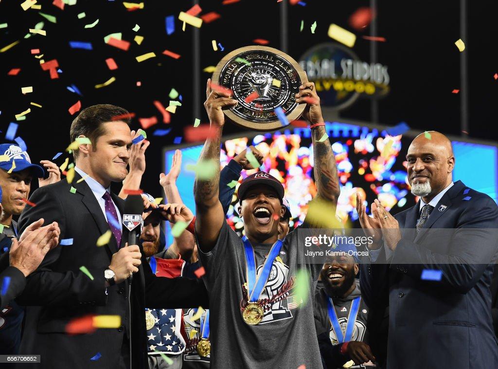 World Baseball Classic - Championship Round - Game 3 - United States v Puerto Rico : News Photo