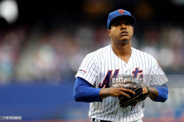 Marcus Stroman of the New York Mets pitches against the Arizona Diamondbacks at Citi Field on Thursday, September 12, 2019 in Flushing, New York.