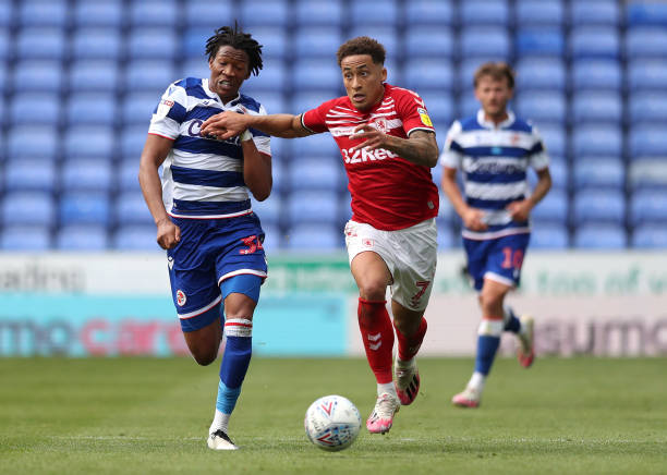 GBR: Reading v Middlesbrough - Sky Bet Championship